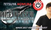 FF VII Remake Produzent Tetsuya Nomura während Monaco Anime Game International Conferences 2017 anwesend