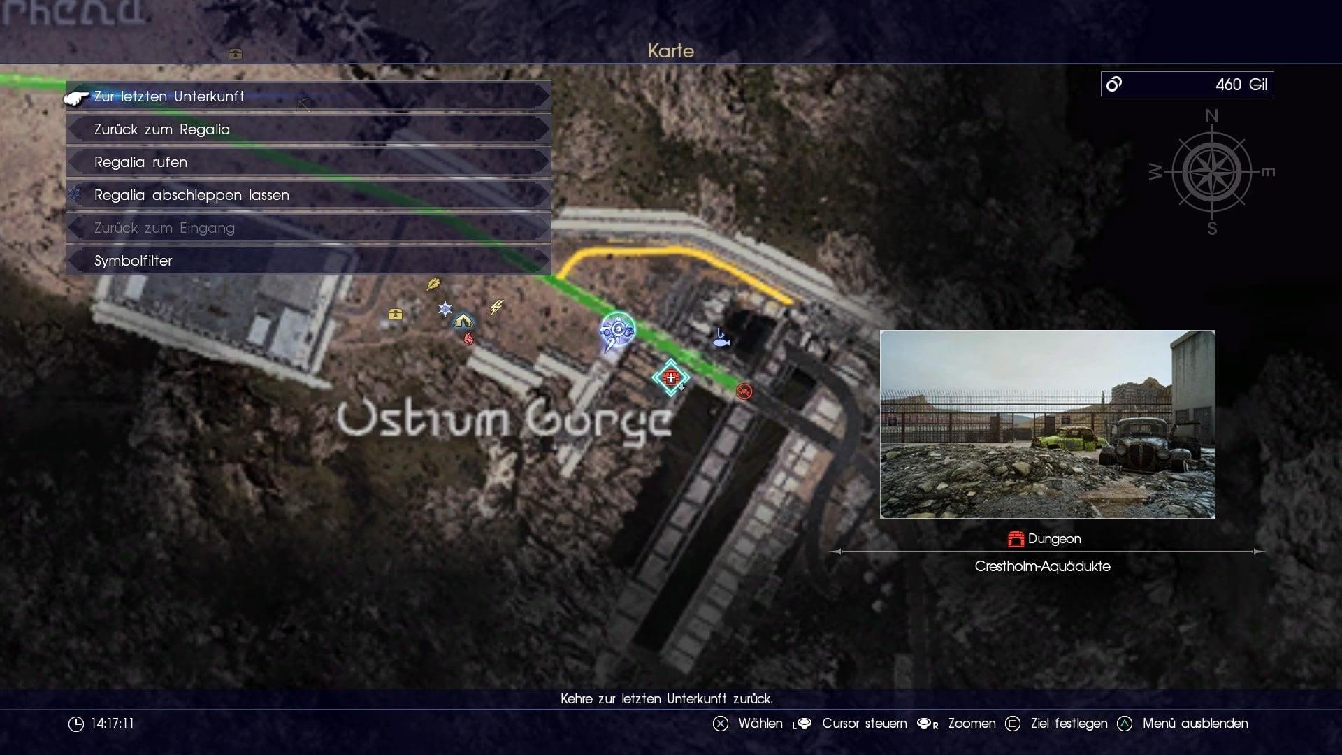 Final Fantasy 15 Königswaffen Karte.Ffxv Dungeon Crestholm Aquädukte Leide Final Fantasy Dojo