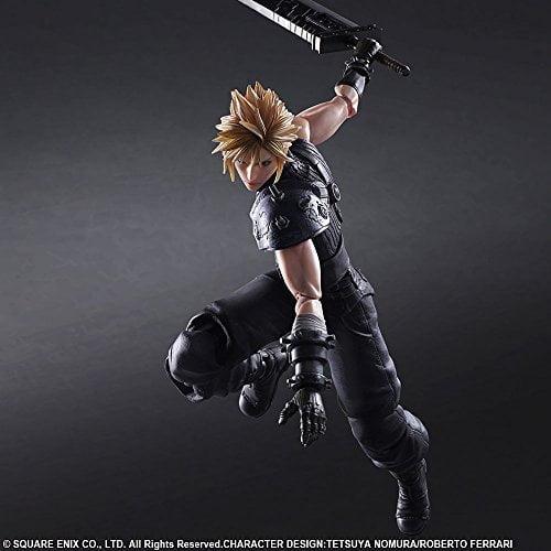 Final Fantasy Vii Remake Play Arts Kai Figuren Zu Cloud Und Barret