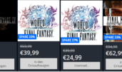 Final Fantasy XV und World of Final Fantasy Angebote im Playstation Store!