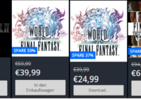 Final Fantasy XV und World of Final Fantasy Angebote im Playstation Store!