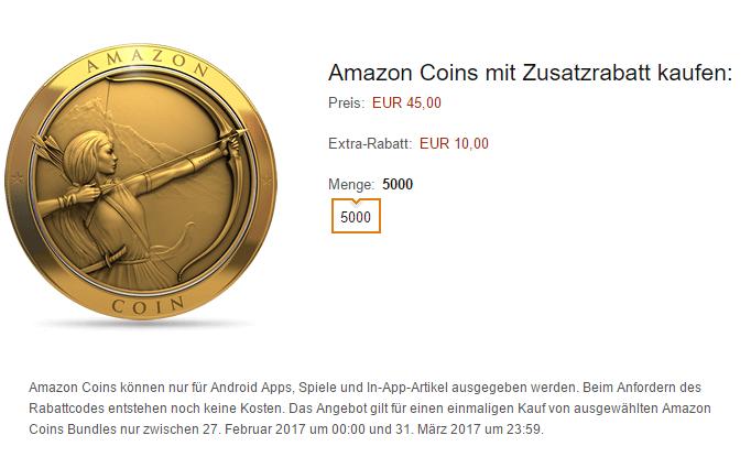 amazon coins mit guthaben kaufen
