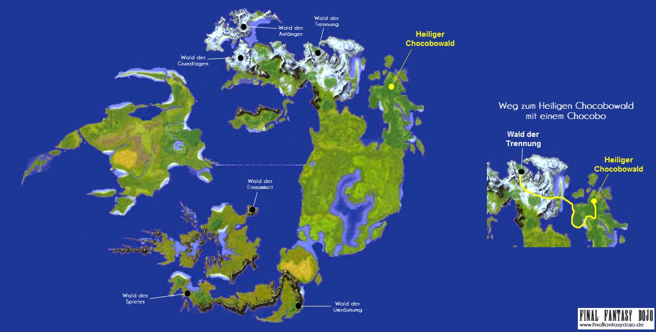 Final Fantasy VIII: Chocobo-Wälder und Heiligtum | Final ...