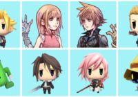 World of Final Fantasy Avatare im PSN