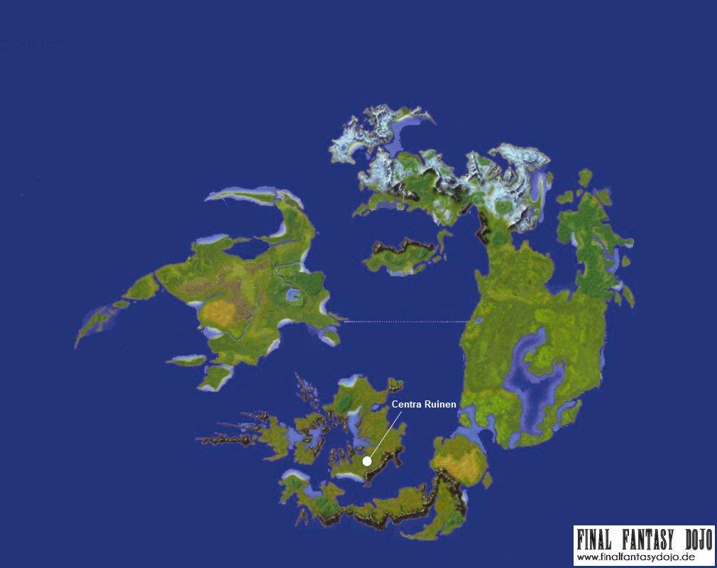 Final Fantasy VIII: Die Centra Ruinen | Final Fantasy Dojo