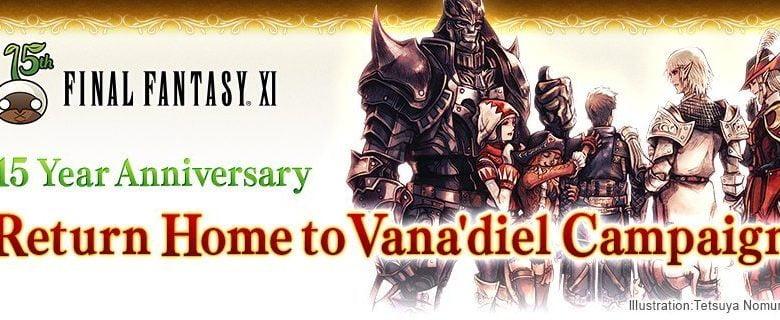 Final Fantasy Xi Kostenlose Login Kampagne Für Rückkehrer Mit