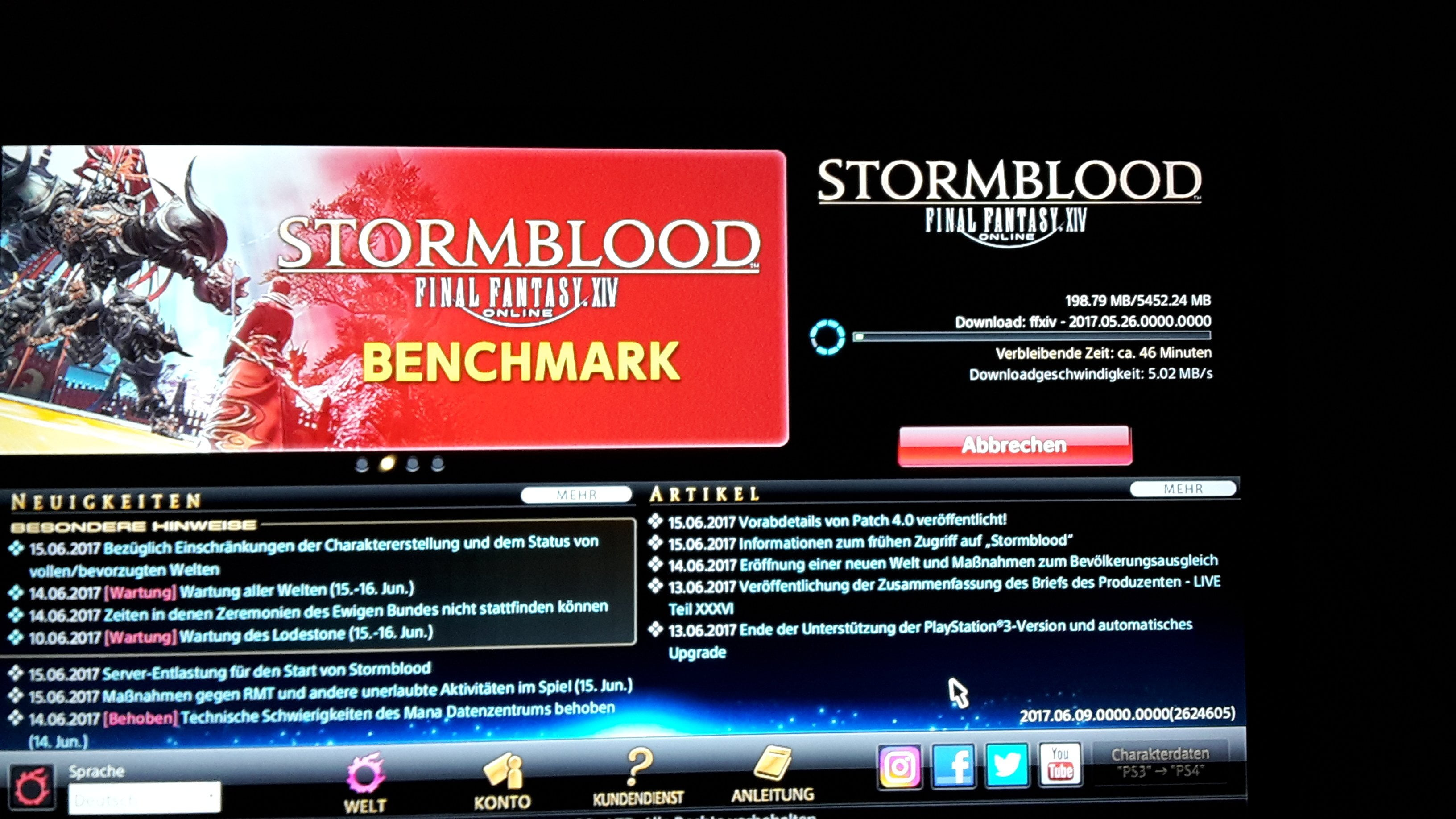 Final Fantasy XIV Stormblood Breaking News Download steht bereit