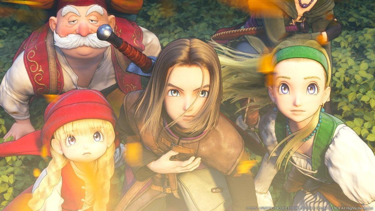 Dragon Quest Xi Wallpaper: Dragon Quest XI Prolog Video Verfügbar & Release Stream