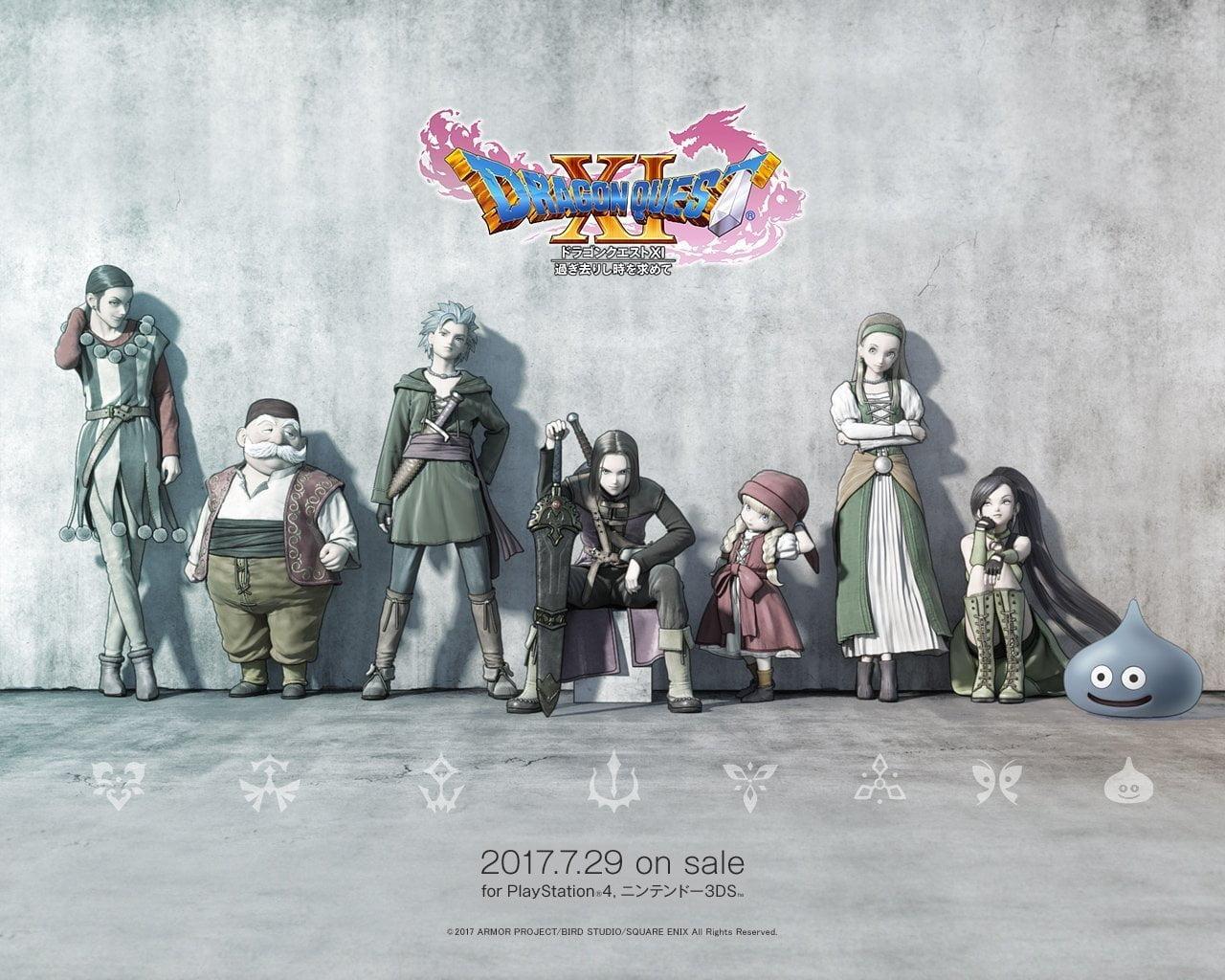 Dragon Quest Xi Wallpaper: Neue Dragon Quest XI Screenshots Und Wallpapers; PS4 & 3DS