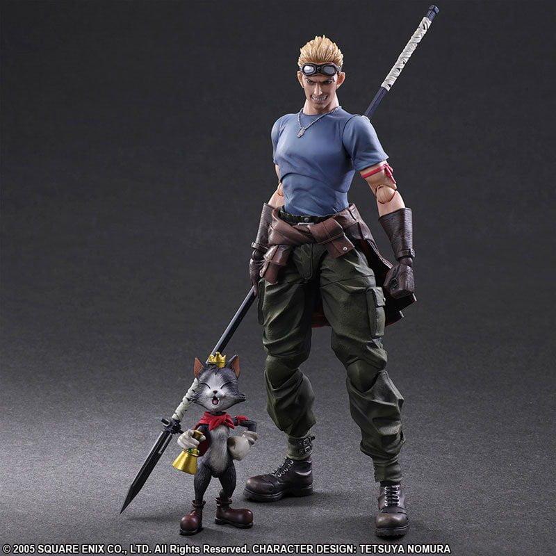 Cid Und Cait Sith Aus Final Fantasy Vii Advent Children Erscheinen