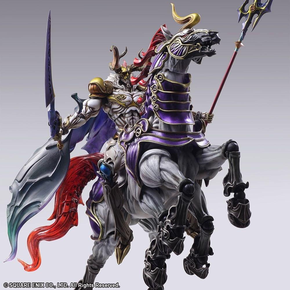 Limited Edition Final Fantasy Creatures Bring Arts – Set: Odin und Sleipnir