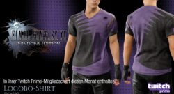"Final Fantasy XV Twitch Prime Loot ""Locobo-Shirt"""