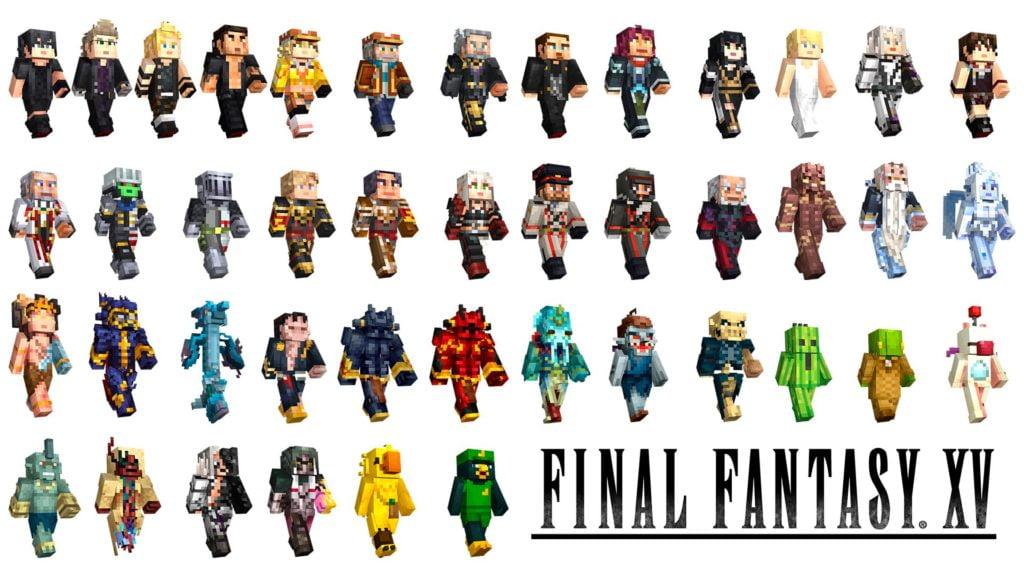 Final Fantasy XV Minecraft Skins