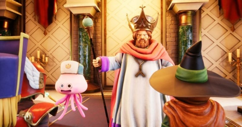 Dragon Quest VR Gameplay