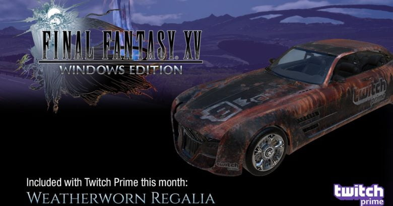 Final Fantasy XV Twitch Prime Loot