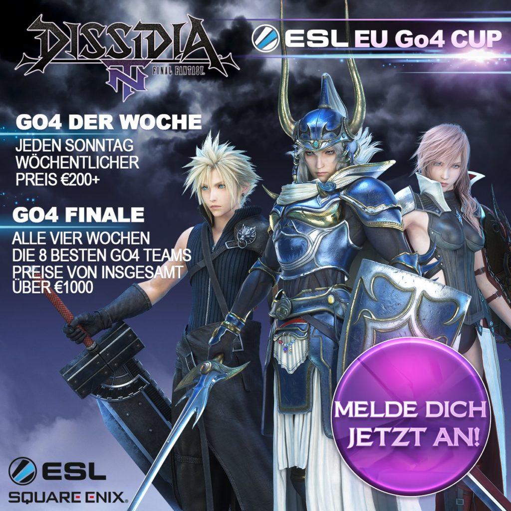 Dissida Final Fantasy Go4-Turniers