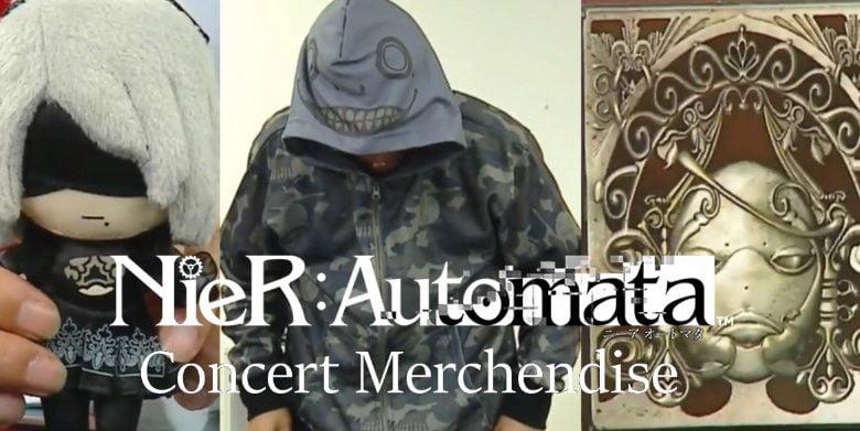 NieR Automata Merchendise Concert