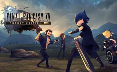 Final Fantasy XV Pocket Edition HD Cover | FFDOJO