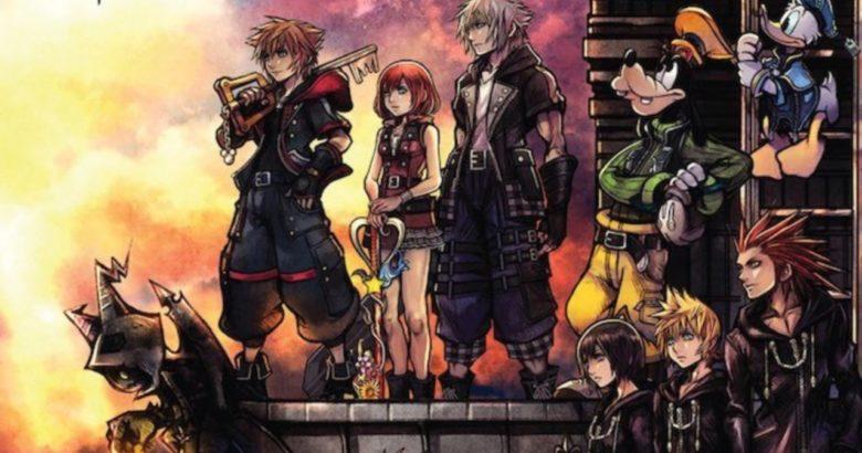 Kingdom Hearts Iii Neue Illustrationen Von Tetsuya Nomura Final