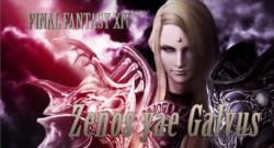 Dissida Final Fantasy NT Zenos