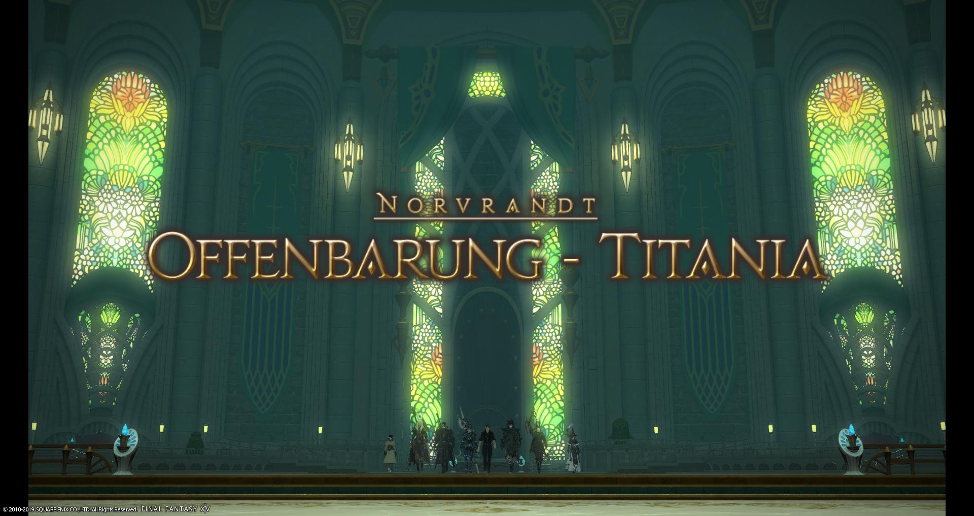 Final Fantasy XIV: Primae Guide - Offenbarung - Titania