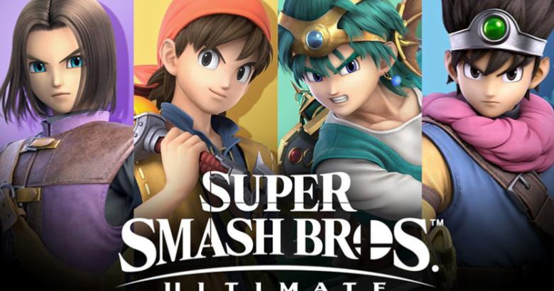 Super Smash Bros Ultimate Hero Dragon Quest XI