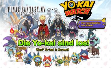 Yo-Kai Watch Event FFXIV
