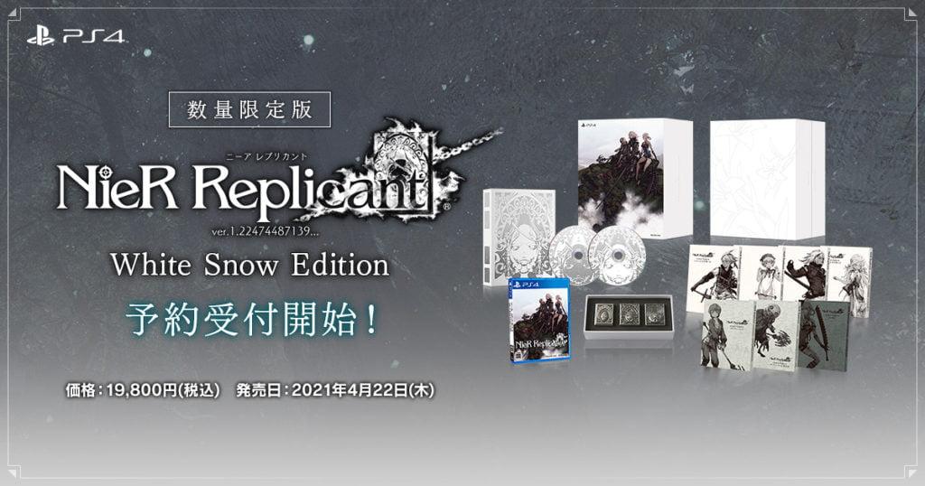 NieR Replicant White Snow Edition